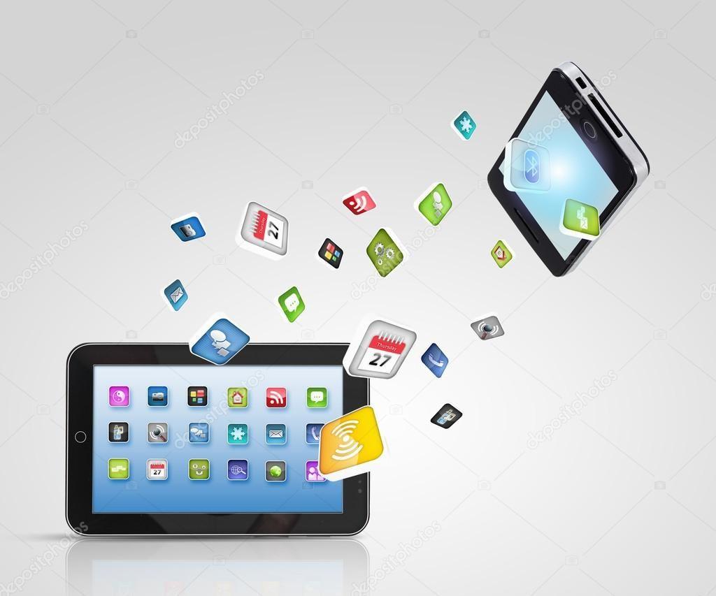 Modern Communication Technology Stock Photo Technology Wallpaper Technology Communication
