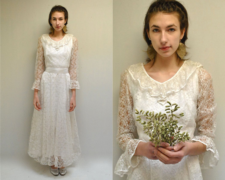Reserved... Lace Wedding Dress // White Wedding Dress