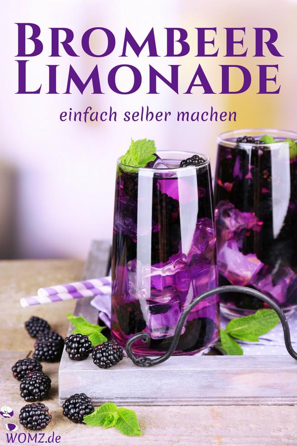 Erfrischende Brombeer-Limetten-Limonade selber machen - WOMZ