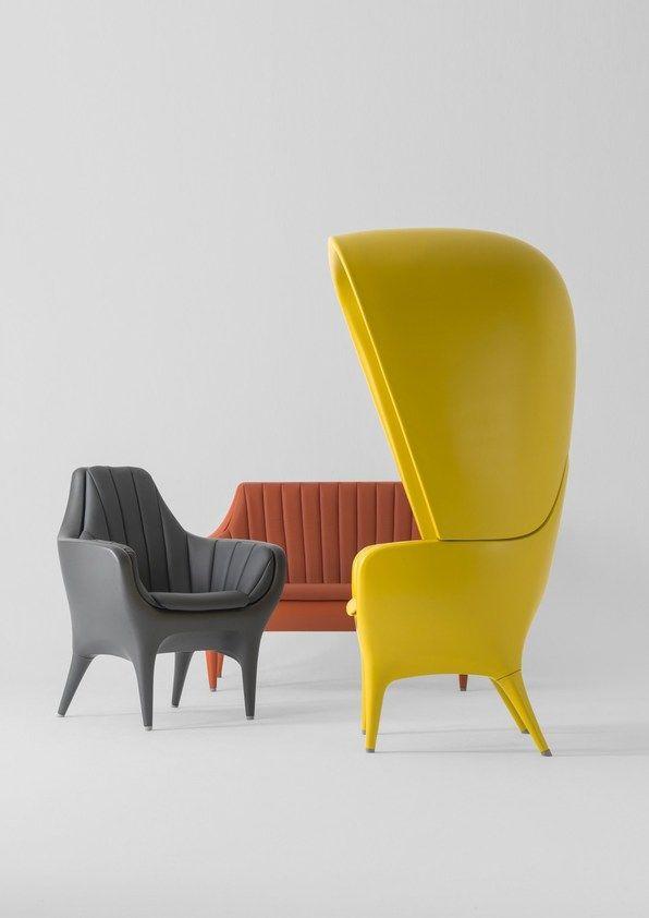 High Back Polyethylene Armchair Showtime High Back