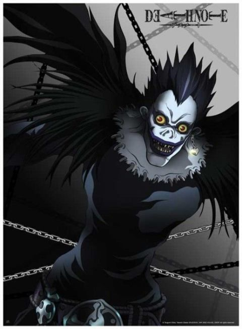 Ryuk shinigami DEATH NOTE | DEATH NOTE | Pinterest | Death ...