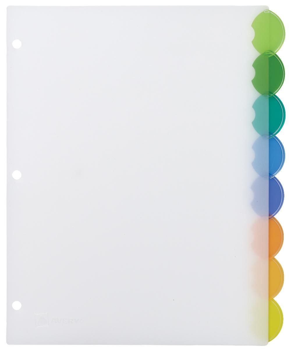 Dividers Come In A Variety Of Sizes And Colors