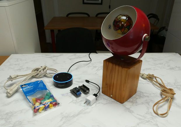 Alexa Smart Lamp With Esp8266 Lamp Alexa Esp8266 Projects