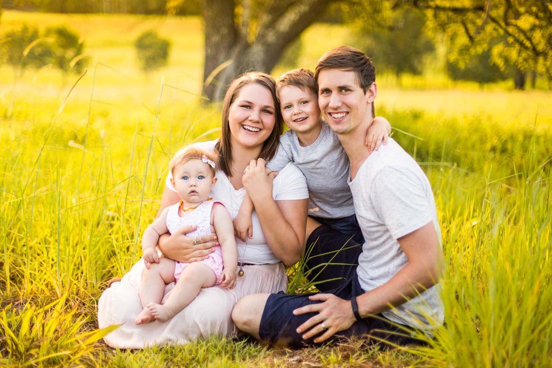 С какими настройками фотографировать семью
