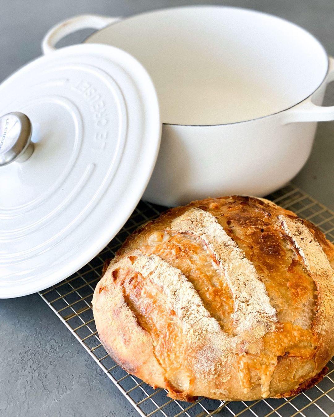 no knead cheddar sage dutch oven bread recipe cooked in a le creuset round dutch ove dutch oven bread enameled cast iron dutch oven recipes dutch oven recipes no knead cheddar sage dutch oven bread