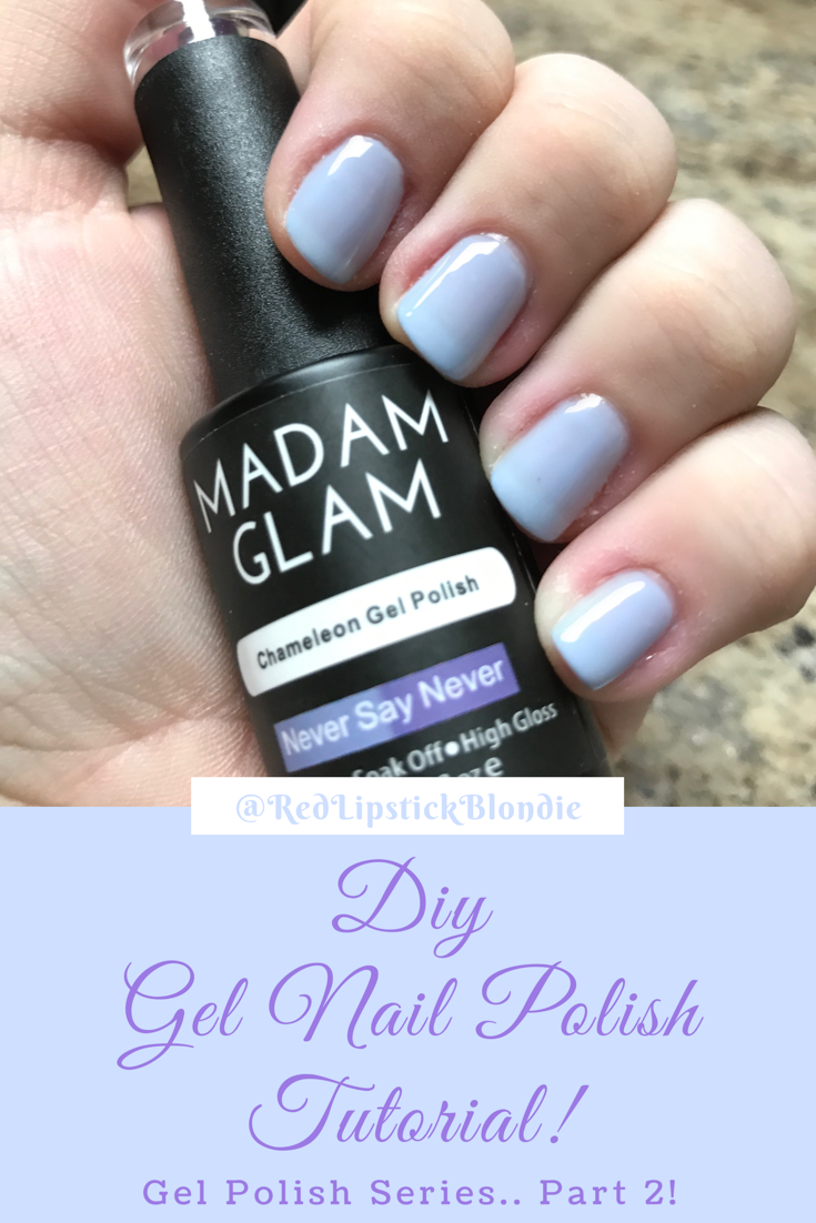 DIY Gel Nail Polish Tutorial   Diy gel nails, Time time and Gel nail ...