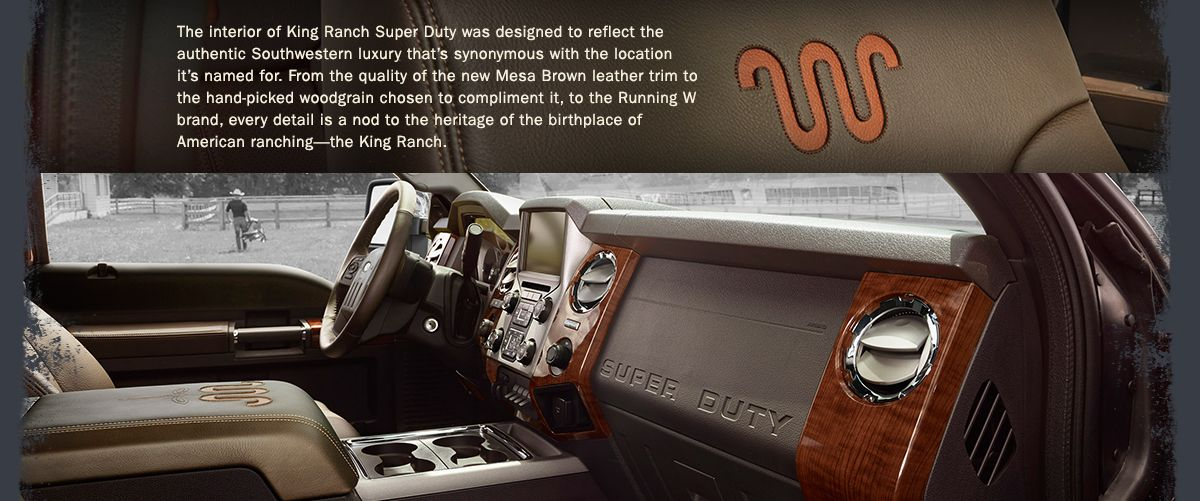 The New 2015 Super Duty Interior Jimmy Granger Ford