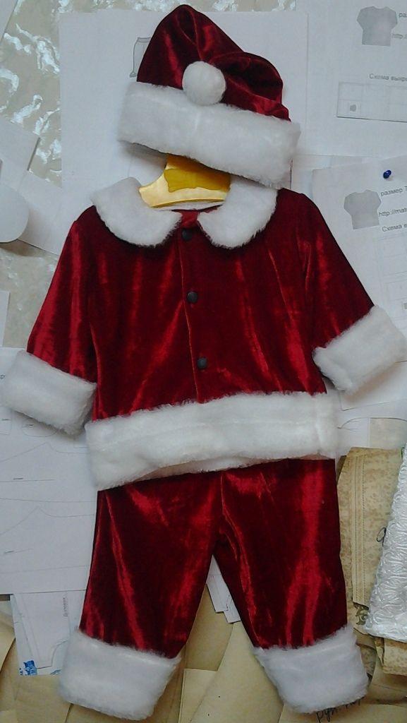 Выкройка костюма санта клауса своими руками фото 415