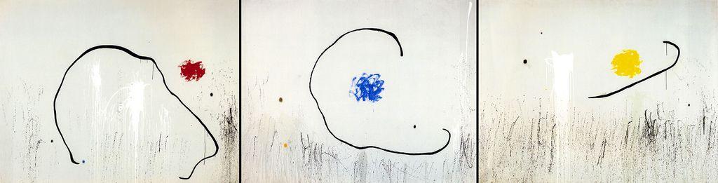 L'espoir du condamné à mort (1974) Joan Miró en memoria de Salvador Puig Antich.