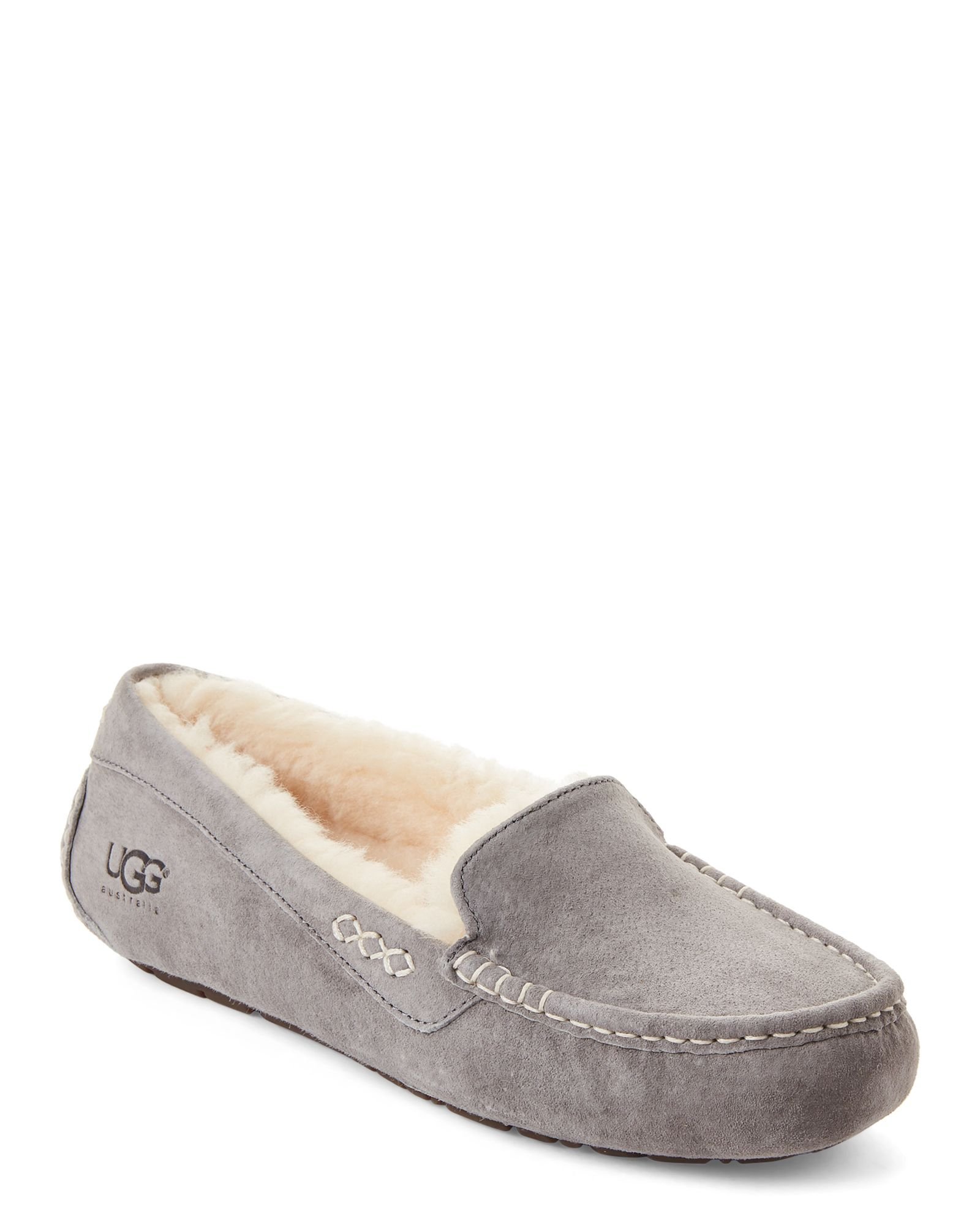 64147be4de8 Light Grey Ansley Mocassin Slippers | *Apparel & Accessories ...