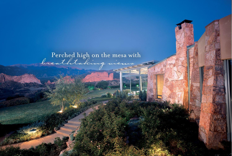 Colorado Springs Luxury Hotel Garden Of The Gods Club Colorado