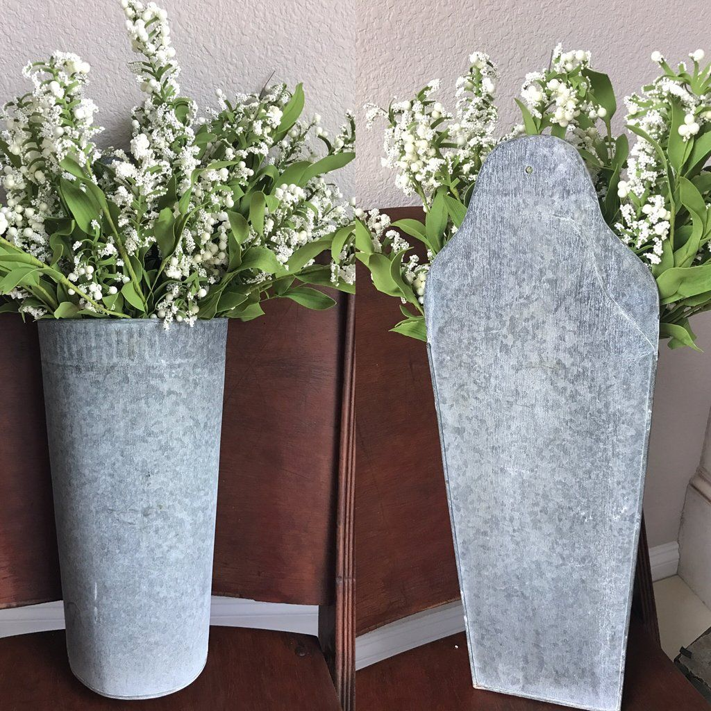 Add character to any room or space with these Large Wall Buckets