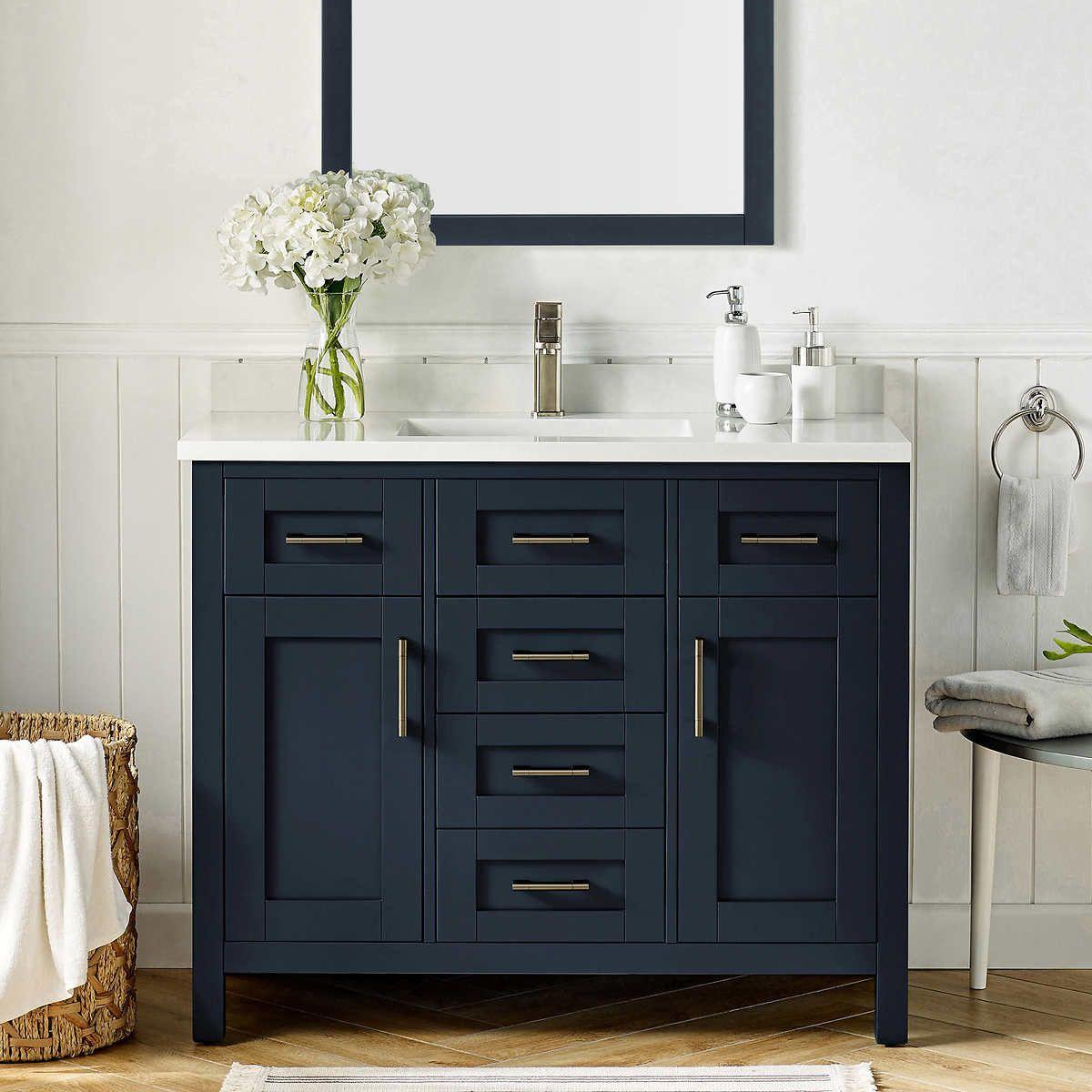 lakeview 42 bathroom vanity by ove in 2020 white vanity on vanity bathroom id=37979