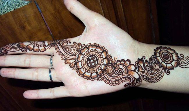 Simple Eid Mehndi Designs 2013 : Best eid ul fitr mehndi design for chand raat fashion