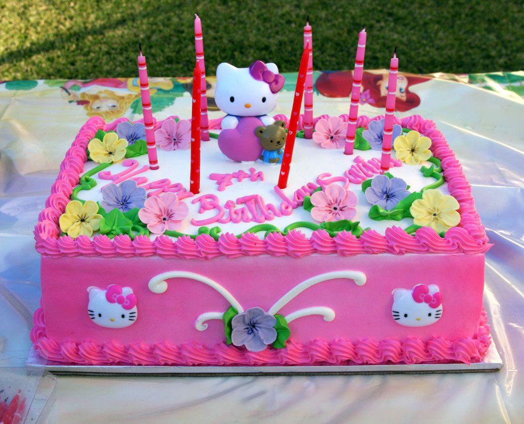 Awe Inspiring 30 Cute Hello Kitty Cake Ideas And Designs Hello Kitty Birthday Birthday Cards Printable Benkemecafe Filternl