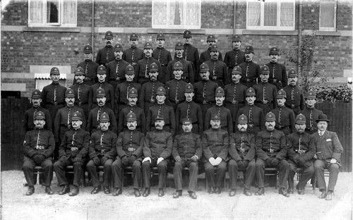 Policemen. Birmingham. late 19thC?