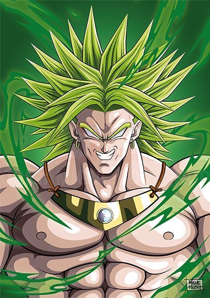 Pin by yniego lattao on dragon ball pinterest dragon - Broly dragon ball gt ...