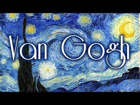 pintores famosos van gogh para nios vdeos dibujos para colorear canciones