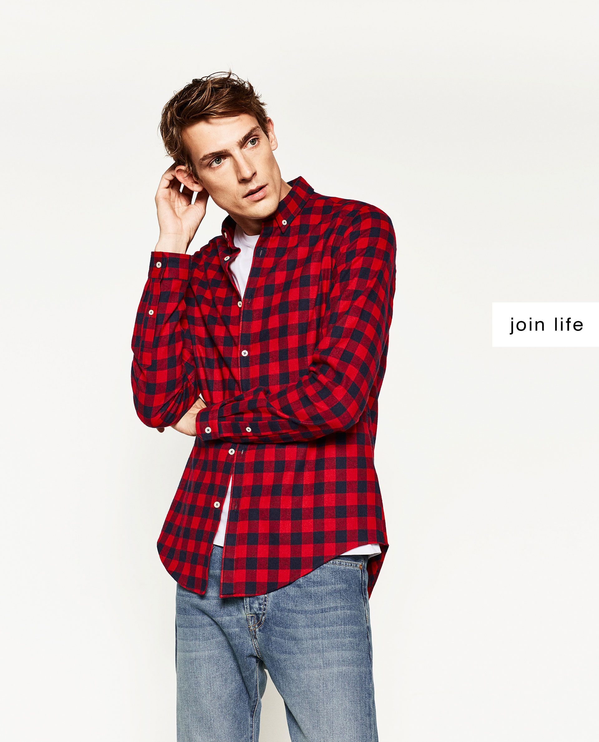 Zara flannel shirt mens  FLANNEL SHIRT joinlife  Available in more colours  DAILY GRINDS