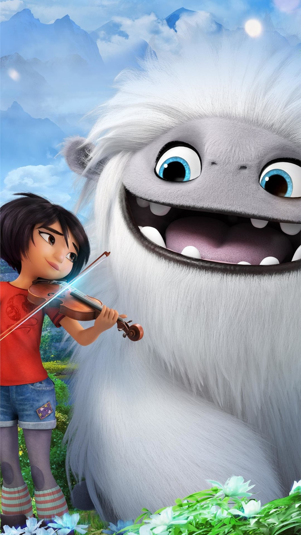 Free Download The Abominable Movie 4k Wallpaper Beaty Your Iphone Movies 4k 2019 Movie Wallpapers Disney Characters Wallpaper Animated Movies Characters