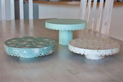Cardboard Cans Paper And Glue Diy Cake Stands Diy Cake Stand Diy Cake Diy Cupcake Stand