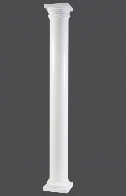 10 Smooth Round Non Tapered Pultruded Column Fiberglass Columns Interior Columns Architectural Columns