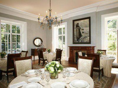 dining room color scheme light gray walls white mouldingtrim