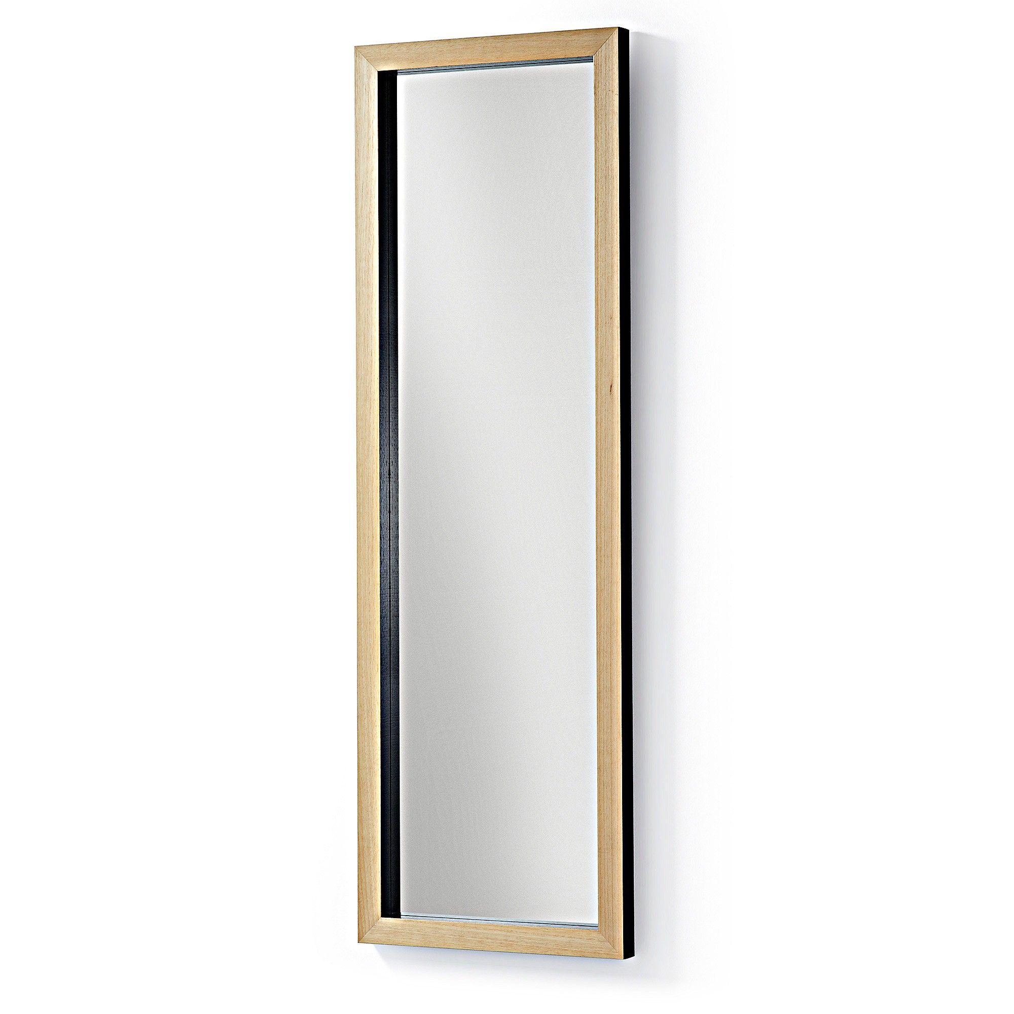 Espejo Enzo negro 48x148 cm
