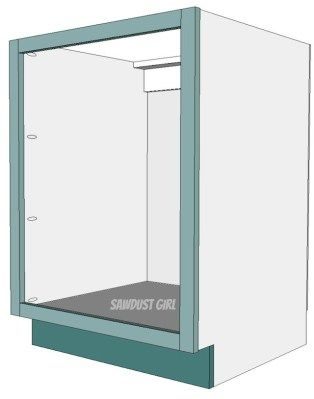 How to build and attach a cabinet faceframe | Cabinets/Bathroom ...