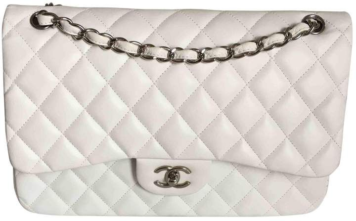 Stunning White Chanel Bag With Silver Hardware Ad