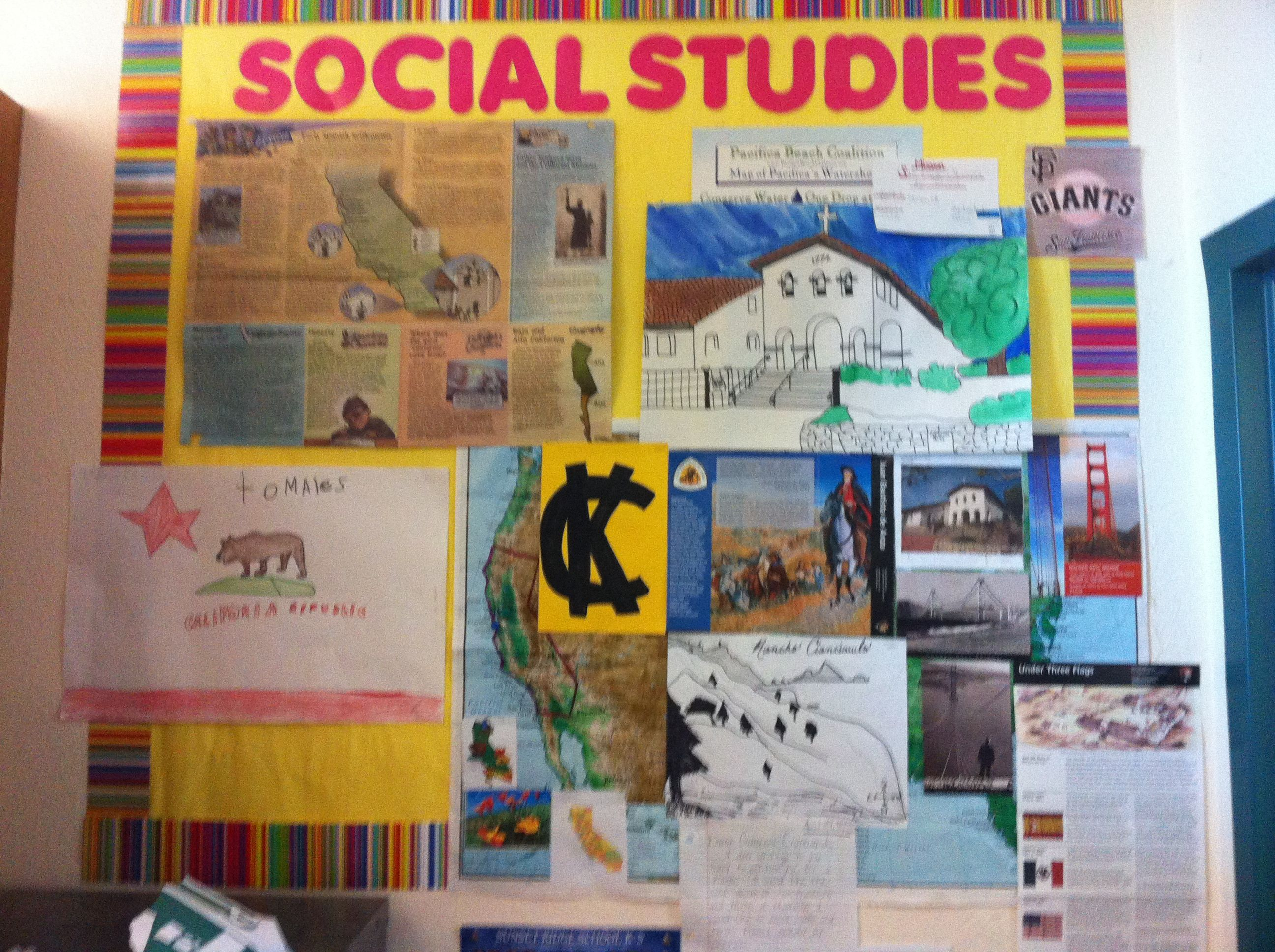 Classroom Decor Social Studies : Social studies bulletin board my example of a mission