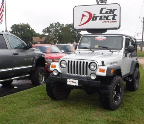 Used 2004 Jeep For Sale In Wrangler 4wd Rubicon Sport Utility