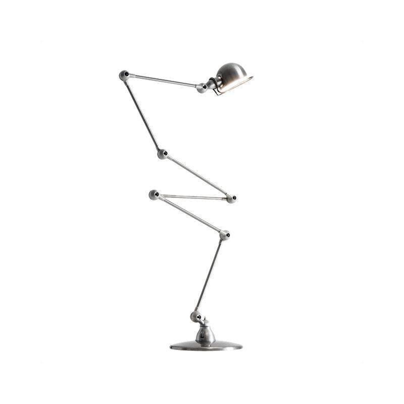 JIELDE FLOOR LAMP BRUSH STEEL JD9406