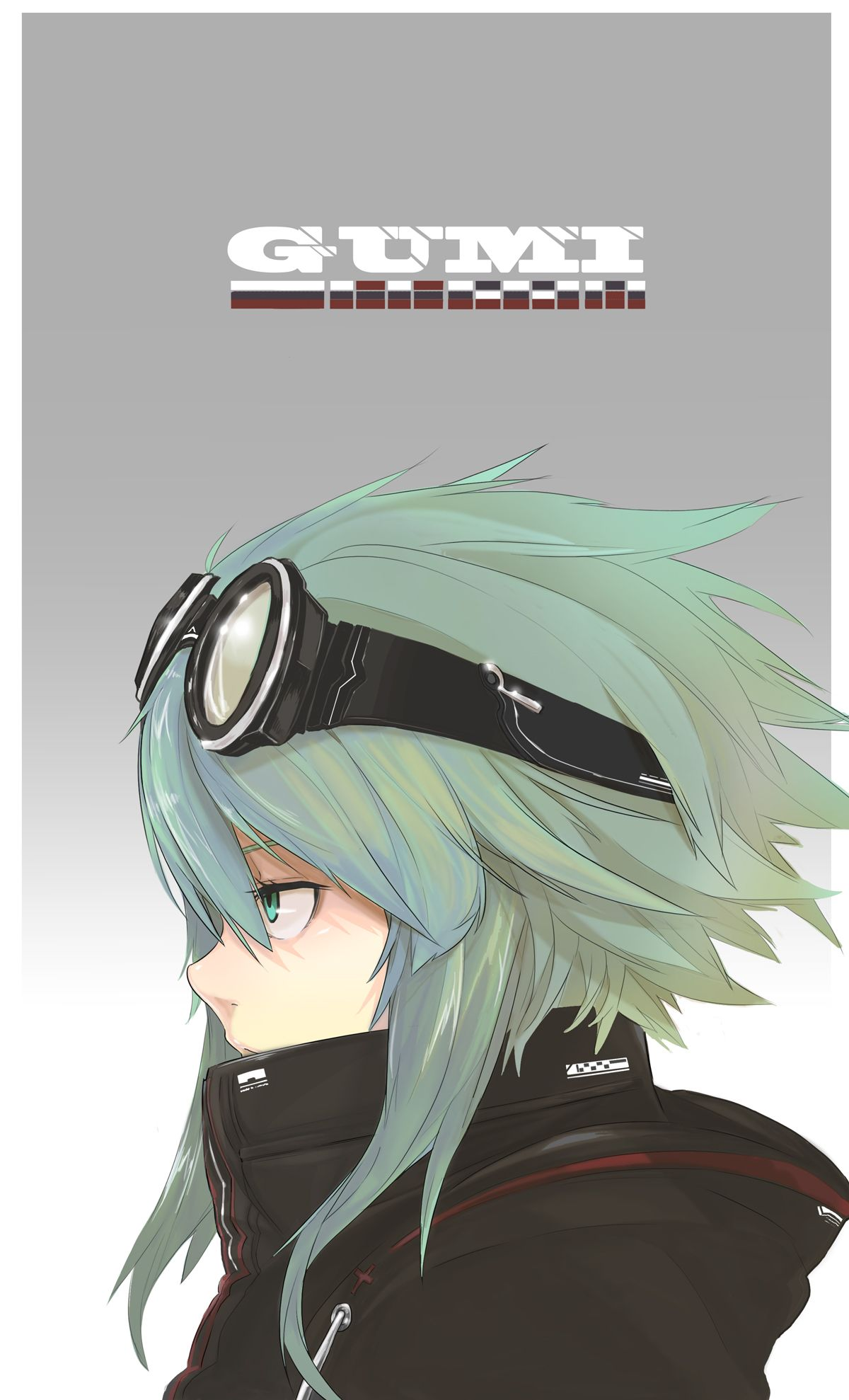 anime goggles side view Google Search Gumi vocaloid