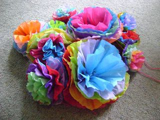 Mexican Paper Flower Tutorial Would Be Perfect To Have On The Tables