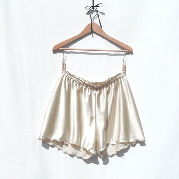 60bd69514ca6 French knickers from champagne satin, a pretty sexy plus size XXL panty,  panties