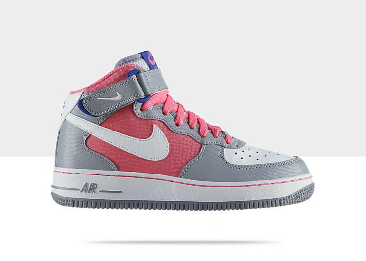 Nike Air Force 1 Mid Girls Shoe