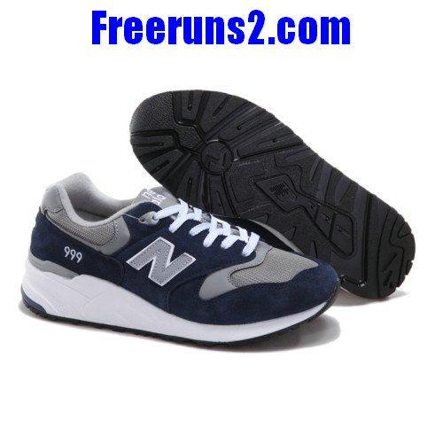 quality design 6a818 e9278 New Balance ML999NV deep Bleu carbon Gris blanc Chaussures Hommes