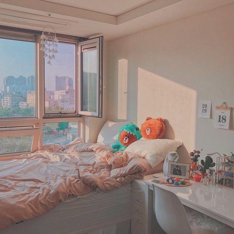Examples of Korean-style minimalist bedrooms