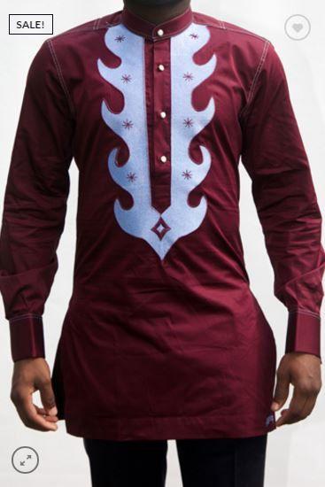 Les vêtements africains pour hommes Dashiki