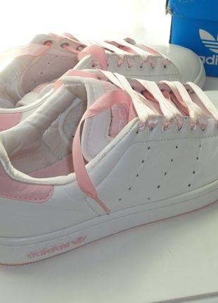 info for c4f80 bd0ba Stan Smith rose  kicks  Pinterest  Girls sneakers, Adidas sh