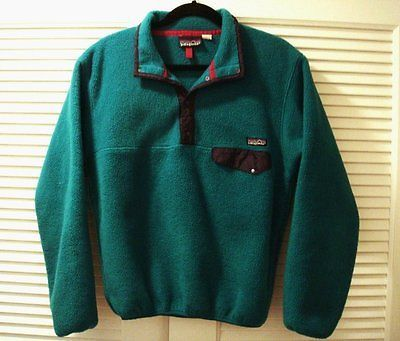 Vintage Patagonia Snap T Pullover Fleece Adult Men Women S