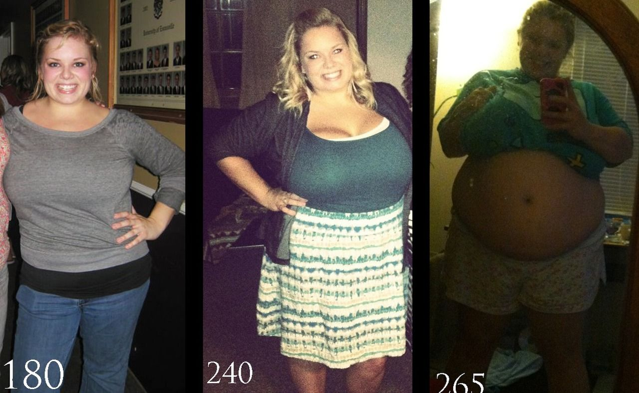 Belly chubby fat gain girl weight