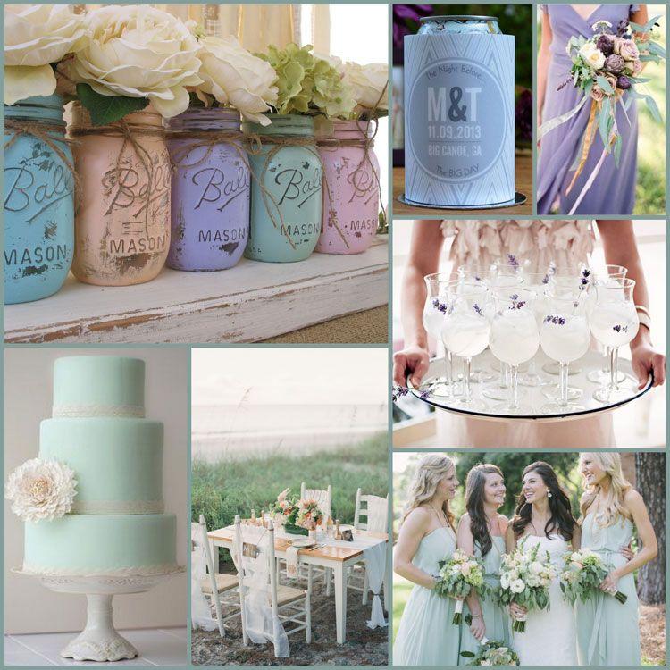 Pinterest Wedding Ideas 2014: Pastel Color Wedding Ideas
