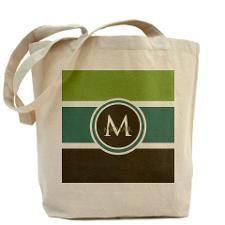 8b5727473d90 Elegant Modern Monogram Tote Bag for   gift ideas   Monogram tote ...
