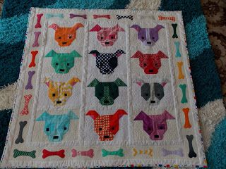 Quilts and Cakes: Meet Scraps, Spot, Patch and friends