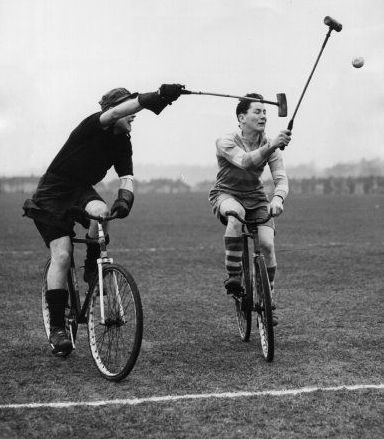 Bike Polo, was even cool back in the day