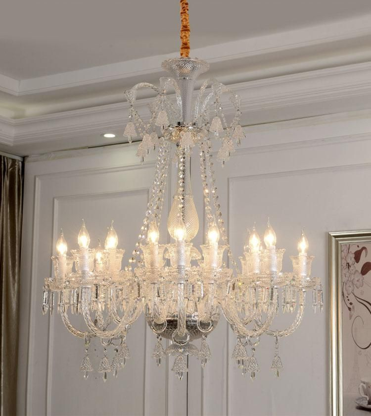 Modern Crystal Chandelier For Dining Room Hanging Crystal Lighting