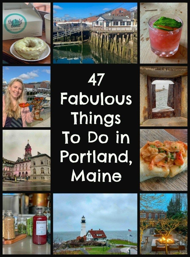 47 Cool Things to Do in Portland, Maine Weekend in