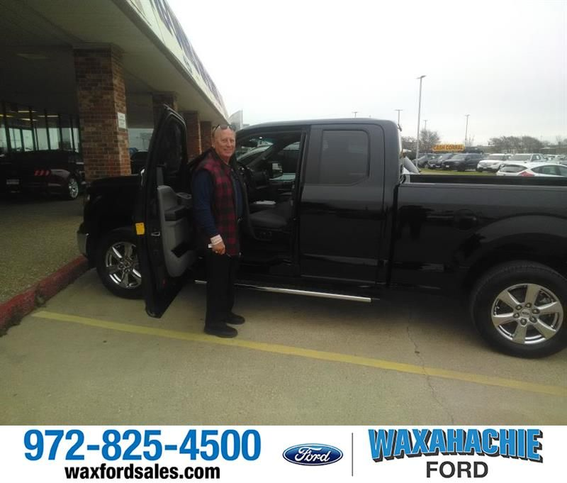 Congratulations Randy on your from Royce Carpenter at Waxahachie Ford!